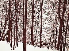 Forest Watch by William Hays (Linocut Print)