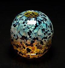 Tortoise Shell by James Friedberg (Art Glass Vase)