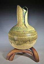 Three Rivers Bridge - Sculptural Vase by Tom Neugebauer (Ceramic Vase)