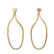Vessel Earrings by Julie Cohn (Bronze Earrings)
