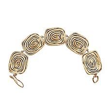 Vortex Link Bracelet by Julie Cohn (Bronze Bracelet)