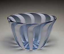 Striped Bowl by James Friedberg (Art Glass Bowl)