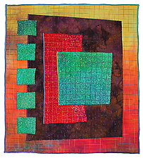 Colorfields: Jade by Michele Hardy (Fiber Wall Hanging)
