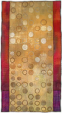 Geoforms: Porosity 1 by Michele Hardy (Fiber Wall Hanging)
