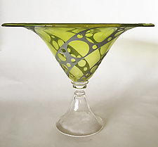 Uranium Ventana Bowl by Minh Martin (Art Glass Bowl)