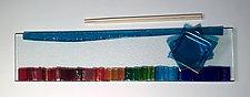 Rainbow Tray I by Alicia Kelemen (Art Glass Tray)