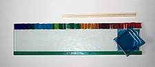 Rainbow Tray II by Alicia Kelemen (Art Glass Tray)