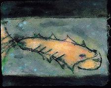 Bluestone Fish by Roberta Ann Busard (Giclee Print)