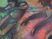 Dance of the Day by Chin Yuen (Acrylic Painting)