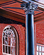 Capital Corinthian by Caroline Jasper (Oil Painting)