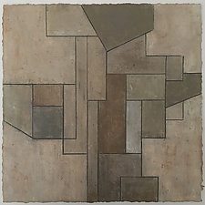 Deep Neutrals Study on Paper by Stephen Cimini (Oil Painting)