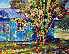 Cool House by Caroline Jasper (Oil Painting)