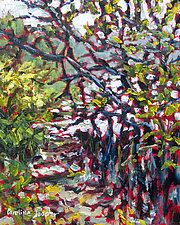 Mangrove Muck by Caroline Jasper (Oil Painting)