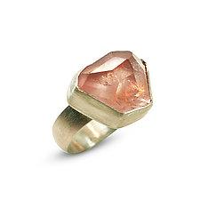 Iceberg Ring by Nancy Troske (Silver & Stone Ring)
