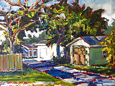 Alley Early by Caroline Jasper (Oil Painting)