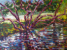 Water Weft by Caroline Jasper (Oil Painting)