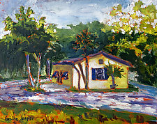 Sunshine Cottage by Caroline Jasper (Oil Painting)