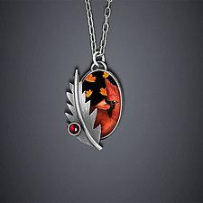 Cardinal Necklace by Dawn Estrin (Silver Necklace)