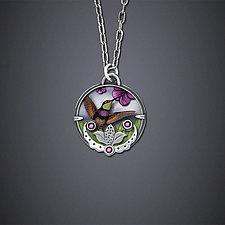 Hummingbird Necklace by Dawn Estrin (Silver Necklace)