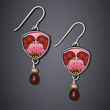 Lovebird Earrings by Dawn Estrin (Silver Earrings)