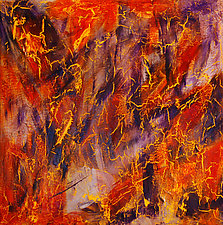 MaxiQuid 2 by Jerry Hardesty (Acrylic Painting)