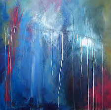 Emotions Surface by Jerry Hardesty (Acrylic Painting)
