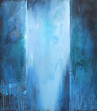 Blue Rhapsody by Karen  Hale (Acrylic Painting)