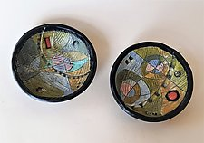 Time & Space Bowls by Janine Sopp (Ceramic Bowls)