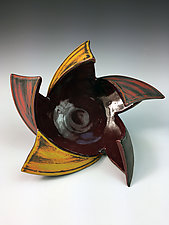Pinweel Vessel by Thomas Harris (Ceramic Vessel)