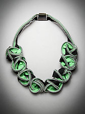 Nexus Zipper Necklace by Kate Cusack (Zippered Necklace)