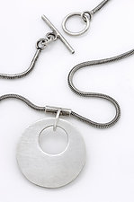 Olga Pendant by Sarah Mann (Silver Necklace)