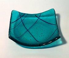 Aqua II by Alicia Kelemen (Art Glass Bowl)
