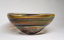 Crayon Bowl by Bengt Hokanson and Trefny Dix (Art Glass Bowl)
