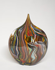 Crayon Vessel by Bengt Hokanson and Trefny Dix (Glass Sculpture)