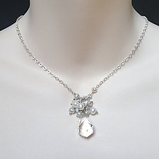 Quartz Gem Necklace by Kathleen Lynagh (Pearl Necklace)