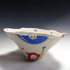Surreal Bowl by Vaughan Nelson (Ceramic Bowl)