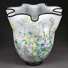 Ljetna Pjesma (Summer Song) by Eric Bladholm (Art Glass Vase)