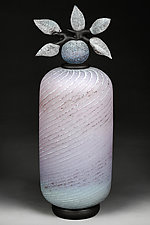 Lilac Lattitude by Eric Bladholm (Art Glass Vessel)