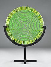 Peace Maze by Terry Gomien (Art Glass Sculpture)