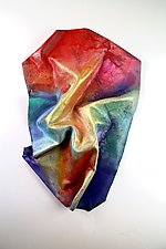 Carry On by Karen  Hale (Painted Wall Sculpture)