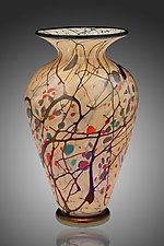 Autumn Vase by David Lindsay (Art Glass Vase)