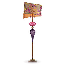 Iyad by Susan Kinzig and Caryn Kinzig (Mixed-Media Floor Lamp)