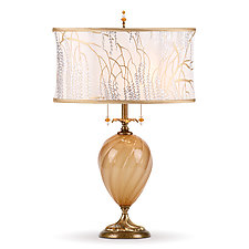 Matilda by Susan Kinzig and Caryn Kinzig (Mixed-Media Table Lamp)