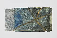 Kintsugi 2 by Mira Woodworth (Art Glass Wall Sculpture)