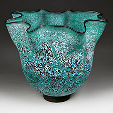 Mysterious Marine by Eric Bladholm (Art Glass Vessel)