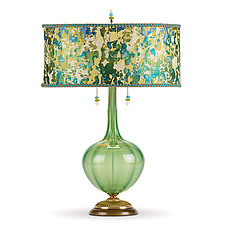 Ariel by Susan Kinzig and Caryn Kinzig (Mixed-Media Table Lamp)