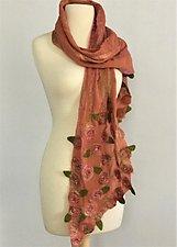 Mallory Scarf II by Elizabeth Rubidge  (Silk and Wool Scarf)
