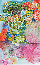 Summer Bouquet II by Helen Klebesadel (Watercolor Painting)
