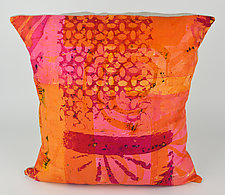 Hot Mod Shine Pillow I by Ayn Hanna (Cotton & Linen Pillow)