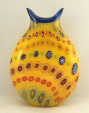 Marrakesh 2 by Ken Hanson and Ingrid Hanson (Art Glass Vase)